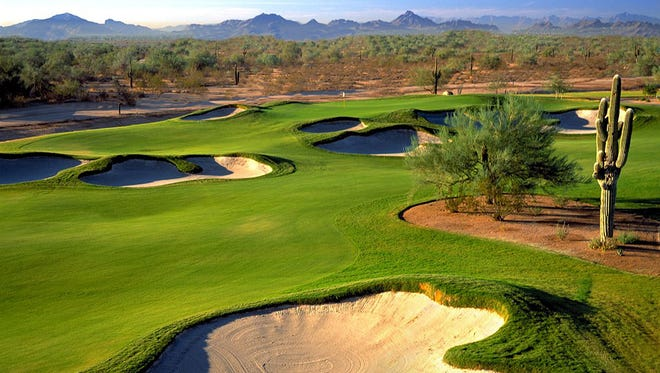 The Faldo Course at the JW Marriott Desert Ridge Resort.