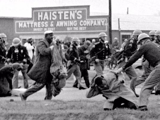 1st Selma march, March 7, 1965
