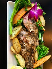 Wood-roasted snapper from Taverna Wood Fire Kitchen