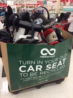 Target is bringing back its carseat recycling program.