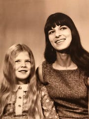 Tammy Baldwin (left) in an undated photo with her mother, Pamela Joan Bin-Rella.