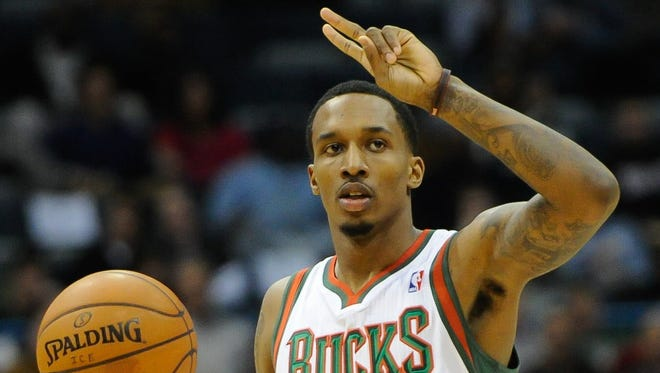 The No. 10 pick in 2009, Brandon Jennings started 289 of his 291 games with the Bucks.