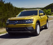 Volkswagen's new Atlas can't do much heavy lifting