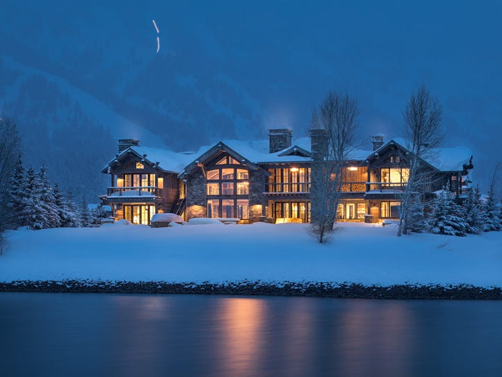 Splurge in Jackson Hole, Wyo.: This five-bedroom rental