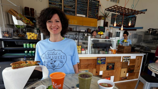 Dawn Balistreri is the owner of Urban Beets. The tiny vegan sandwich and smoothie shop/juice bar at 1401 N. King Drive is expanding into space next door. The opening is expected around mid-July.