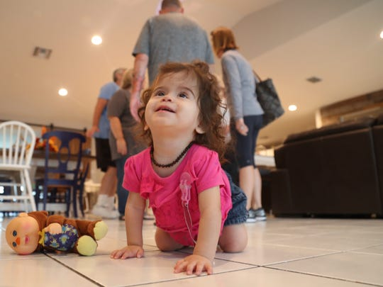 The Hamilton family moved into their new 13 bedroom,