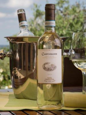 Santa Christina wines.