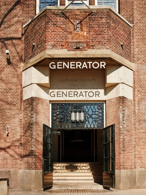 The Generator is a new hostel in Amsterdam.