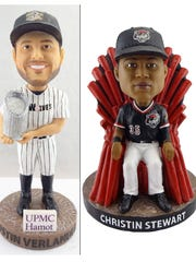 The Erie SeaWolves will give away Bobbleheads of Justin Verlander and Christin Stewart.