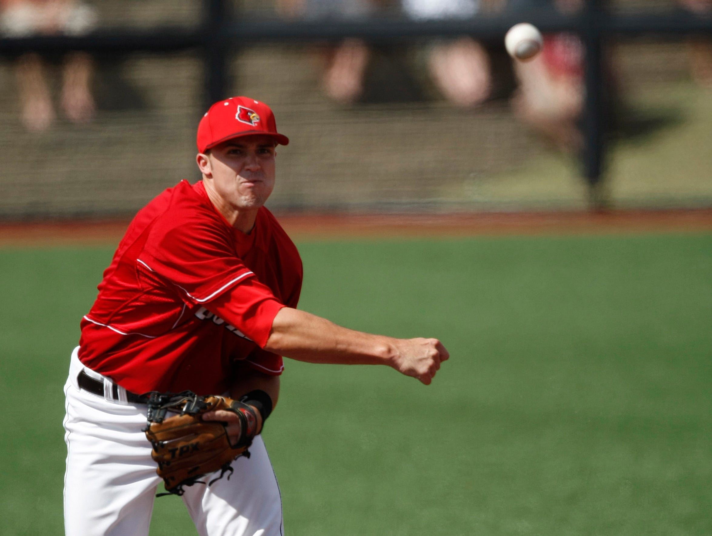 Vanderbilt's Aaron Westlake is forced out at second