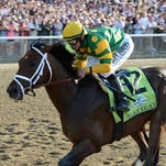 Palace Malice captured the 2013 Belmont Stakes (shown above) and the 2014 Metropolitan Mile a year later.