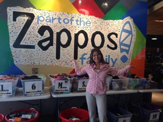 Sitima's visit to Zappos headquarters