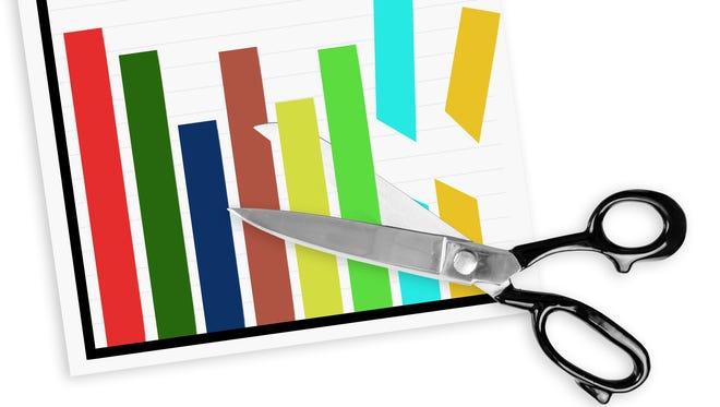 File Illustration Image - Budget Cuts
