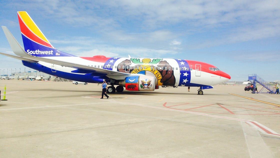 Southwest Airlines Kansas City Missouri