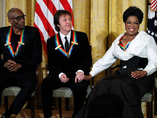 President Obama Honors Paul Mccartney >> $117 million gone: Oprah loses more than weight