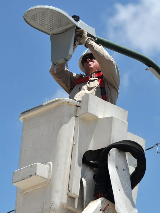 City to consider LED street lights