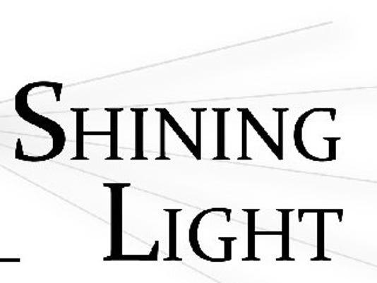 Shining light logo