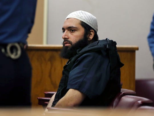 Ahmad Khan Rahimi, accused of setting off bombs in