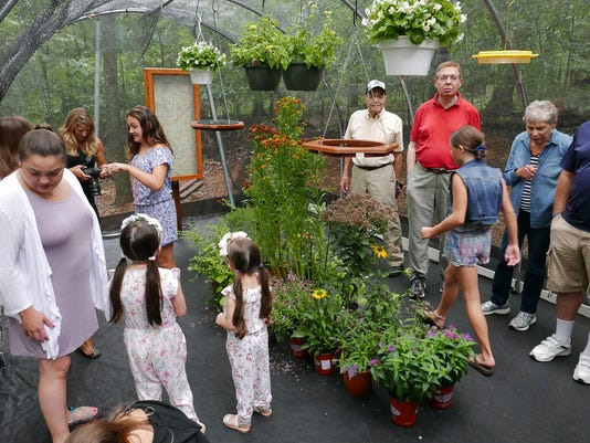 Butterfly house opens at Tenafly Nature Center