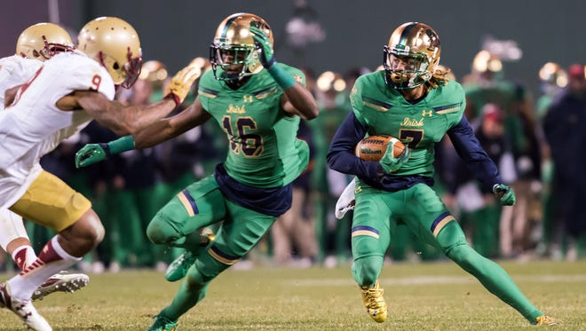 The Notre Dame football team could be green with envy as they may miss out on a playoff with an upset loss to rival Stanford.