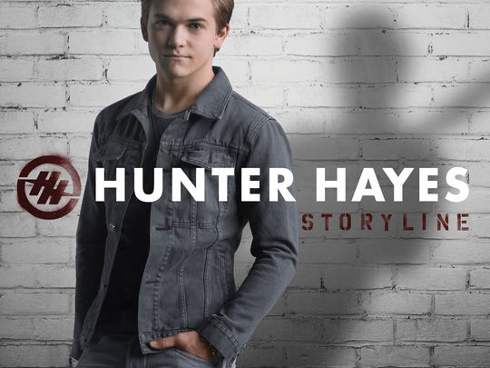 """This CD cover image released by Atlantic Records shows """"Storyline,"""" the latest release by Hunter Hayes."""