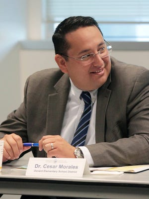 Cesar Morales, the Oxnard School District superintendent, said the new building at Thurgood Marshall will support 21st-century learning.