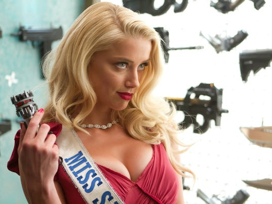 Amber Heard in 'Machete Kills'