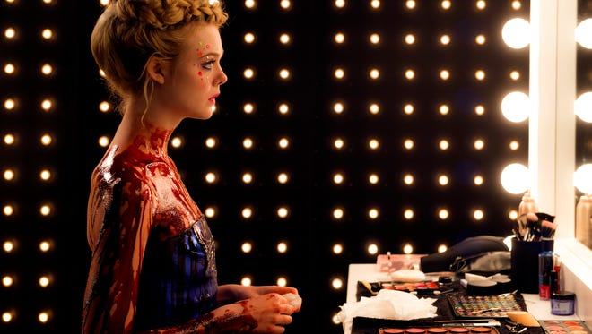 "Elle Fanning in ""The Neon Demon."" The movie is playing at R/C Hanover Movies."