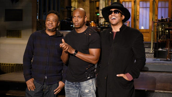 Jarobi White and Q-Tip performed at Saturday Night Live the night that Dave Chappelle hosted, cementing their return to the music scene.