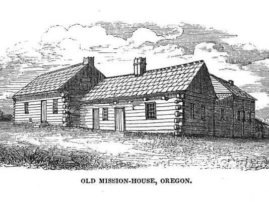 Old Mission-House, Oregon
