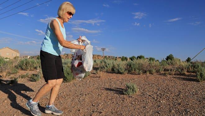 The Adopt-a-Spot program includes litter pickup.