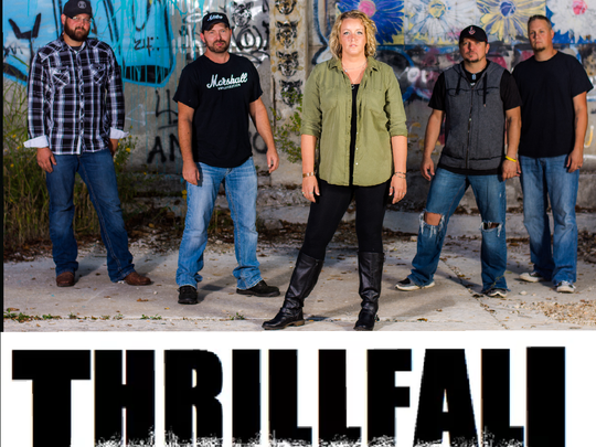 Catch Thrillfall's show Saturday night at Southbound Bar & Grill, 5739 S. Campbell Ave.