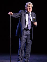 """Jay Leno performs the day after his last """"Tonight Show"""""""