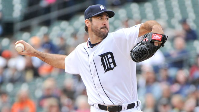 Justin Verlander's ineffectiveness against right-handed hitters seemed to begin when his average fastball velocity dipped.