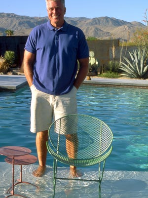 TV host Huell Howser bought this Palm Springs home in 1997 and customized it.