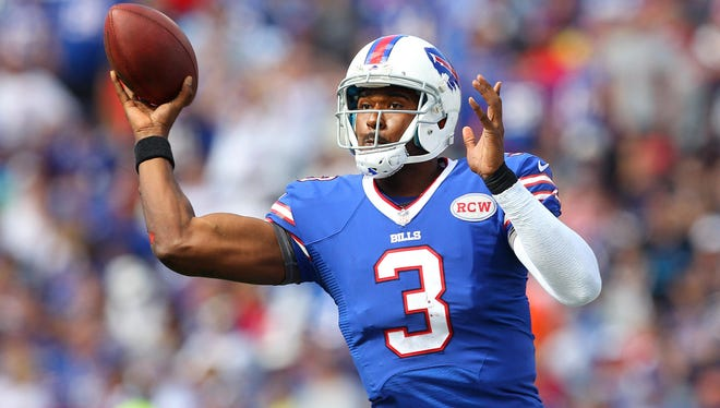 Of the four QB who played for the Bills Saturday night, EJ Manuel was the only one to toss a touchdown.