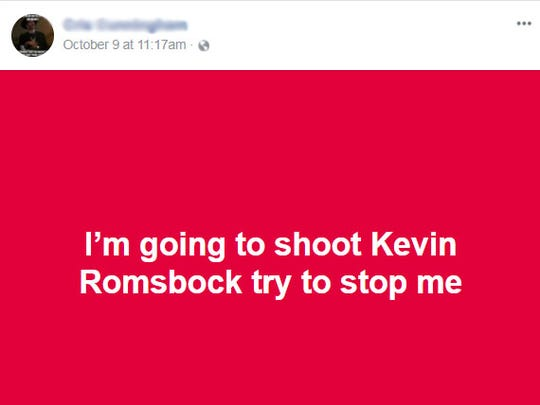 The FBI is investigating social media death threats made against Collier County Sheriff Kevin Rambosk. A Colorado Springs man apparently wrote in several Facebook posts that he wanted to shoot the sheriff.