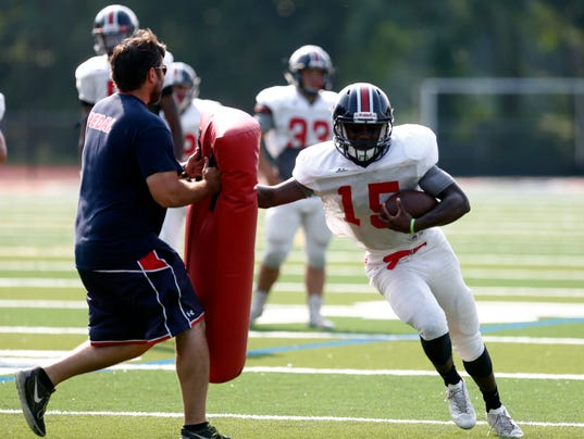 Delvaine Seagers - RC Ketcham Football Practice