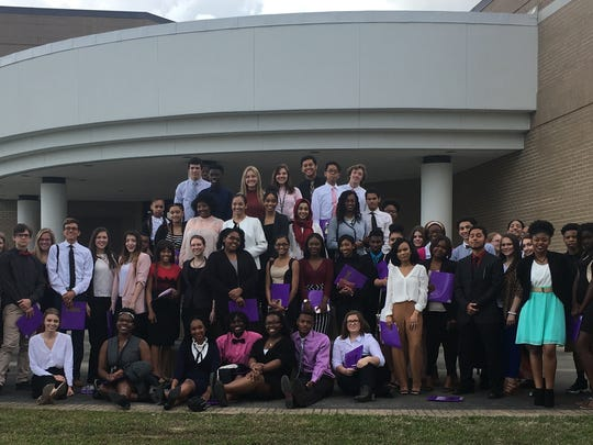 The OHS Magnet Academy of Biomedical Science hosted a work-based learning conference at Louisiana State University Eunice Feb. 2.