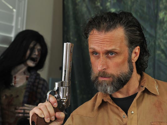 Cecil Garner Walking Dead style cosplayer