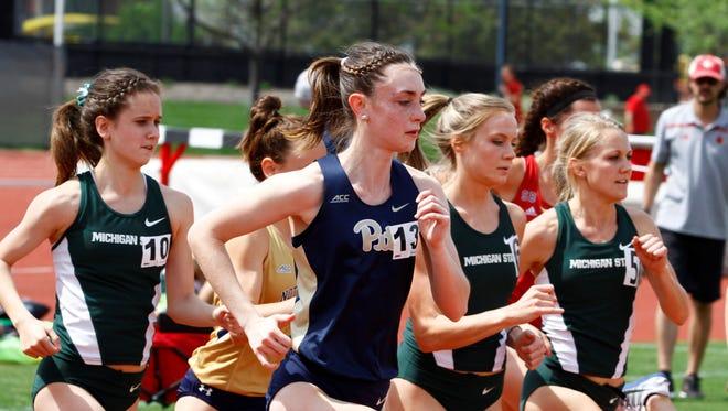 Palmyra grad Miranda Salvo has had an outstanding junior season for the University of Pittsburgh women's track and field team.