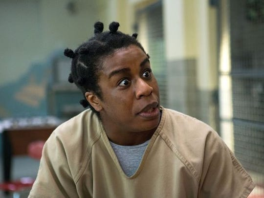 "Uzo Aduba won an Emmy for playing ""Crazy Eyes"" on ""Orange"
