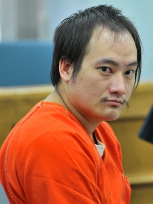 Kou Thao, of Wausau, appears Sept. 17, 2014, for his plea at the Marathon County Circuit Court in Wausau.