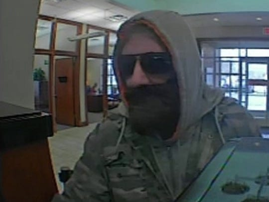 Pictured is the man whom the FBI says robbed the SunTrust