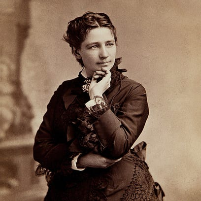 Victoria Woodhull was the presidential candidate of