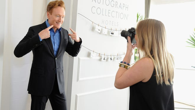 LOS ANGELES, CA - MARCH 29:  Tv host Conan O'Brien attends Variety Studio Actors on Actors presented by Autograph Collection Hotels on March 29, 2015 in Los Angeles, California.  (Photo by Angela Weiss/Getty Images for Variety) [Via MerlinFTP Drop]