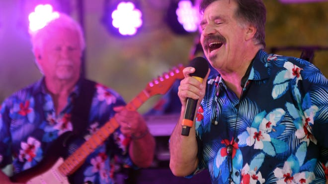 Craig Woolard and the Embers played the SeaSide Club at St. James Plantation in Southport in 2019.
