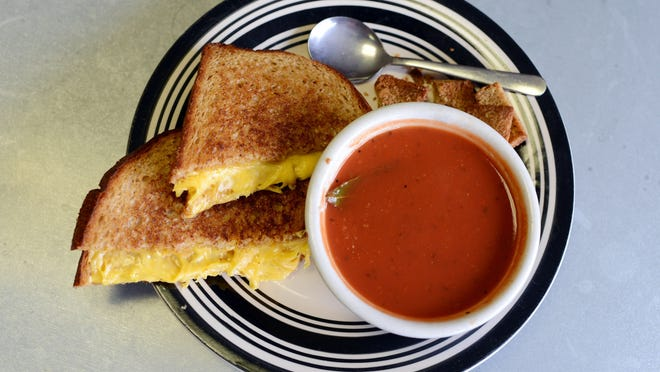 Tomato soup and grilled cheese go hand in hand.