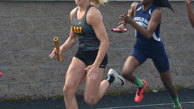 Zeeland East's Lauren Anderson was an all-state sprinter as a sophomore.