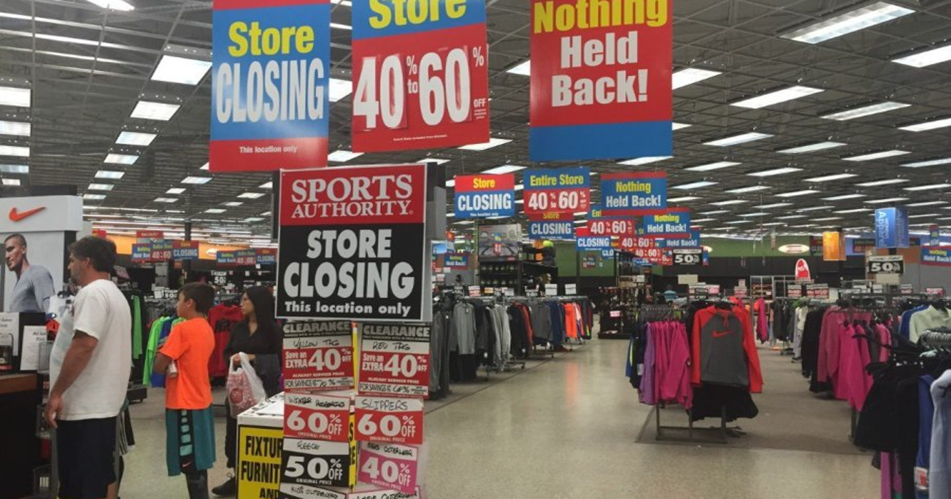 Sports Authority Closings Can Mean Good Deals Eventually Map